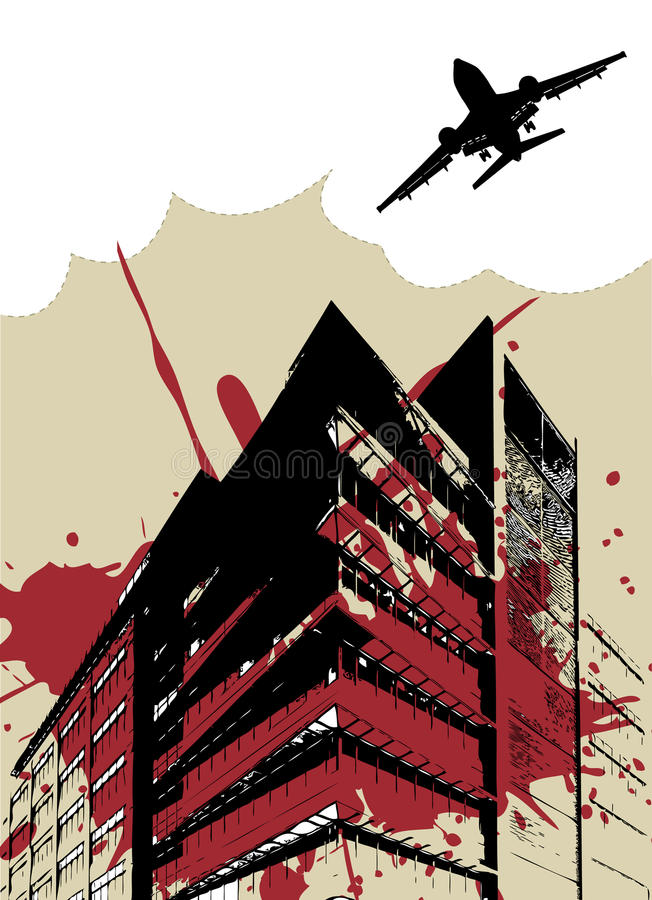 miasto miastowy ilustracja wektor