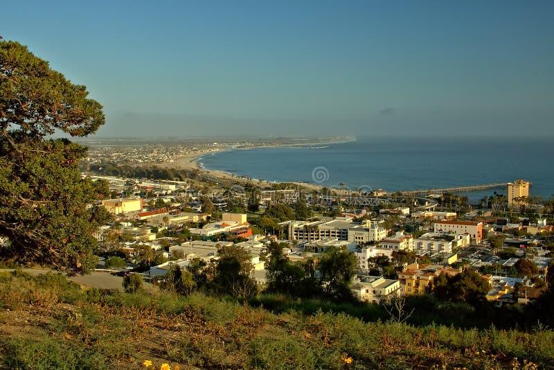 Miasto morzem zdjęcie stock