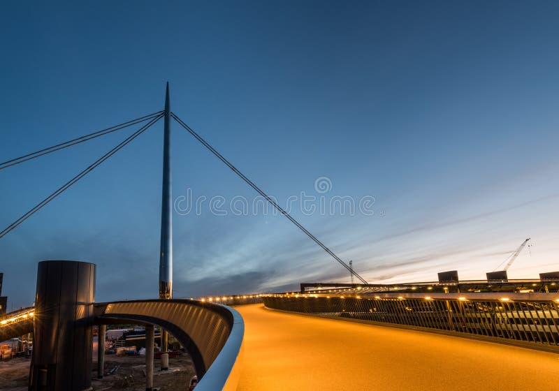 Miasto most w Odense, Dani obraz royalty free