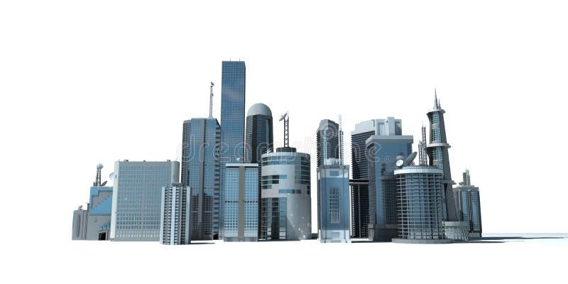 miasto nowożytny ilustracji