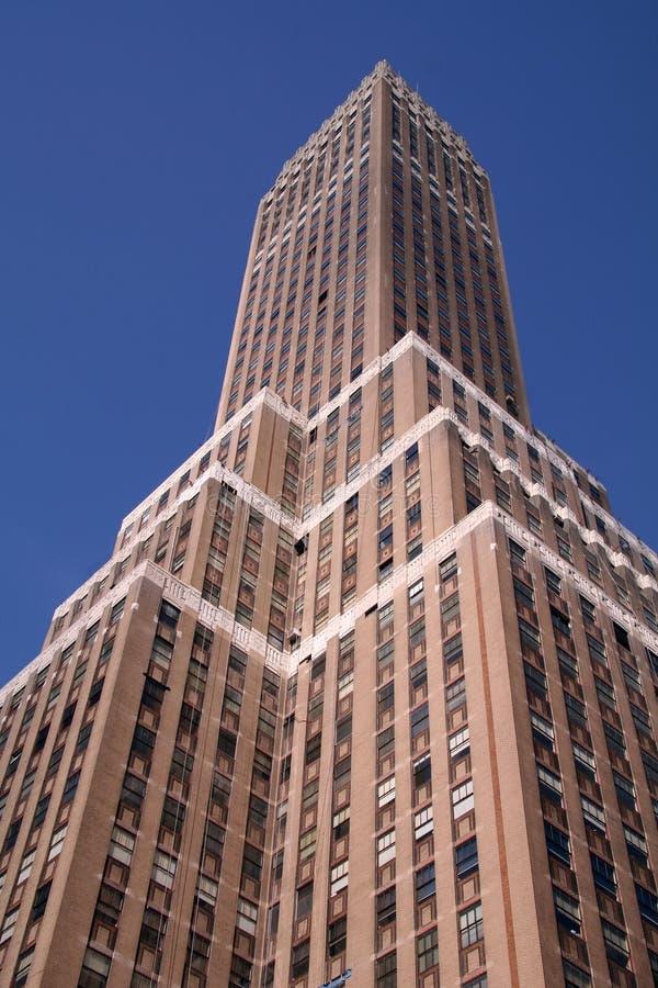 miasto nowy budynek York niebo obrazy royalty free
