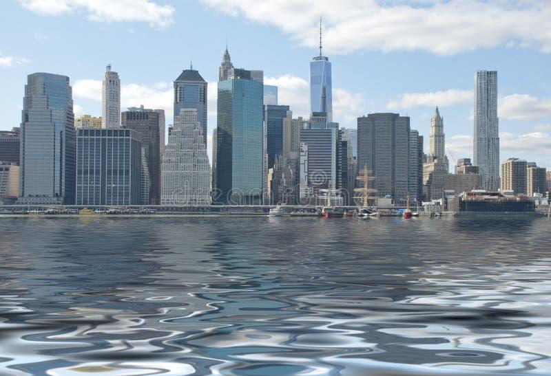 Download Miasto nowy Jork ilustracji. Ilustracja złożonej z city - 41952943