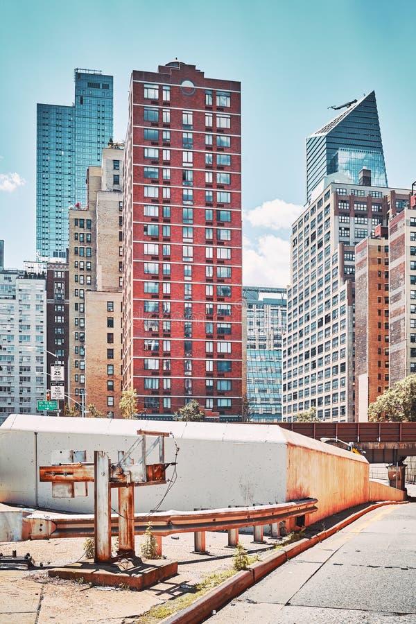 Miasto Nowy Jork budynki, usa fotografia stock