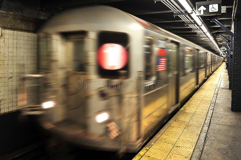 Miasto Nowy Jork metro obrazy royalty free