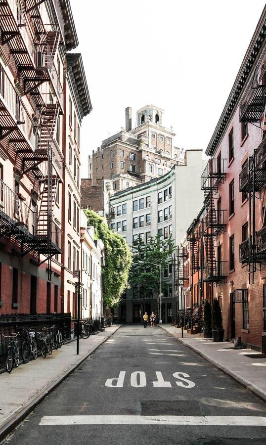 Miasto Nowy Jork, NY, usa 05 29 2016 Homoseksualnych ulic w greenwichu village obraz royalty free
