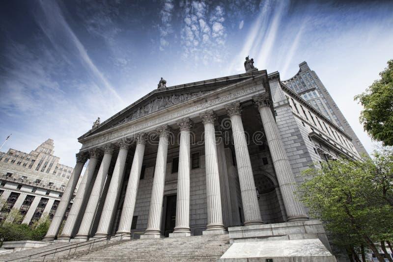 Miasto Nowy Jork sąd najwyższy zdjęcia stock