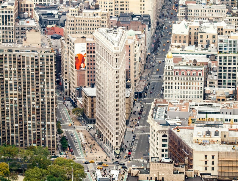 Miasto Nowy Jork ulicy widok zdjęcia royalty free