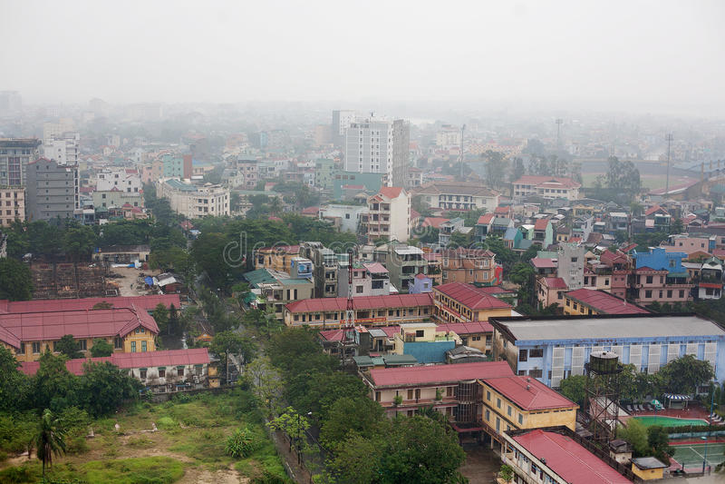 Miasto odcień Wietnam fotografia royalty free