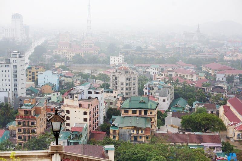 Miasto odcień Wietnam obraz royalty free