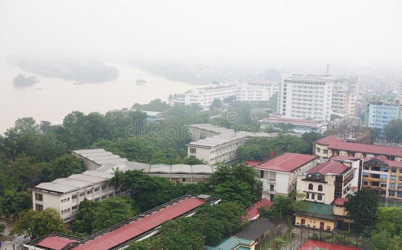 Miasto odcień Wietnam zdjęcia stock