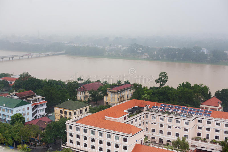 Miasto odcień Wietnam fotografia stock