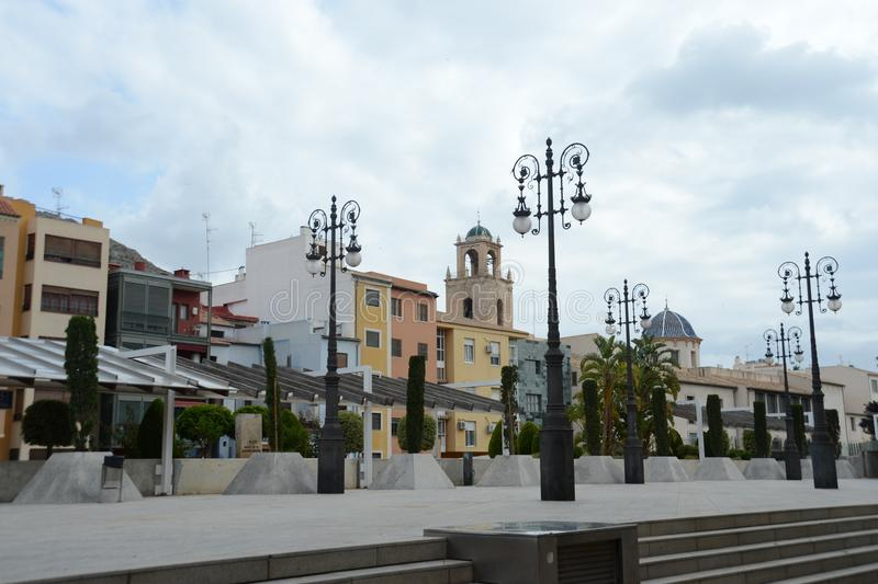 Miasto Orihuela zdjęcie royalty free