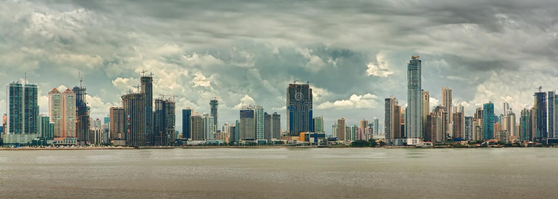 miasto Panama obraz royalty free
