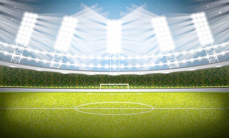miasto 01 Paris stadionie Futbolowa arena royalty ilustracja