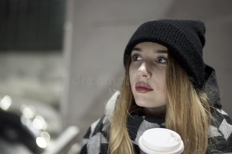 miasto piękna kobieta zdjęcia stock