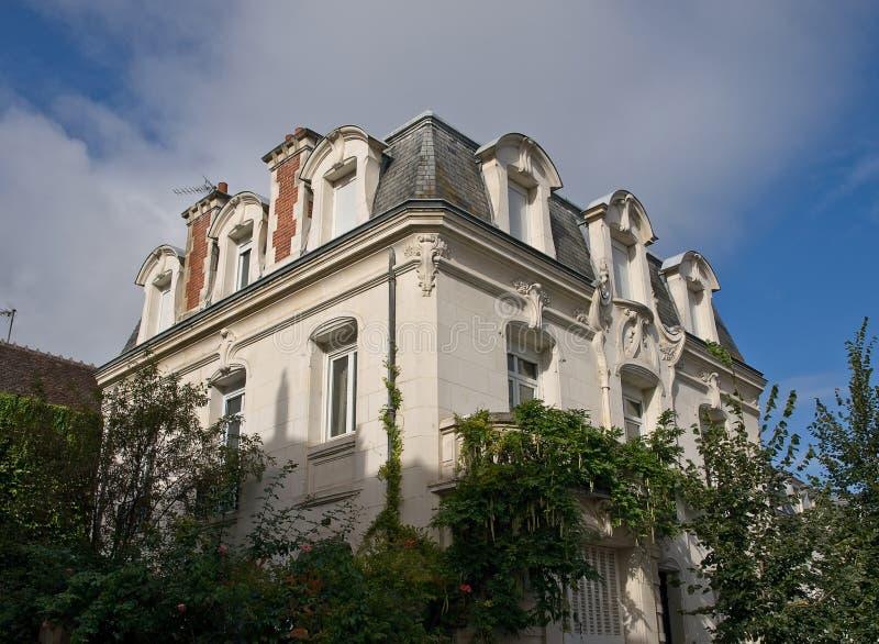 miasto piękny dom obrazy royalty free