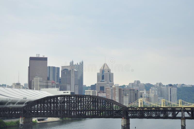 miasto Pittsburgh obraz royalty free