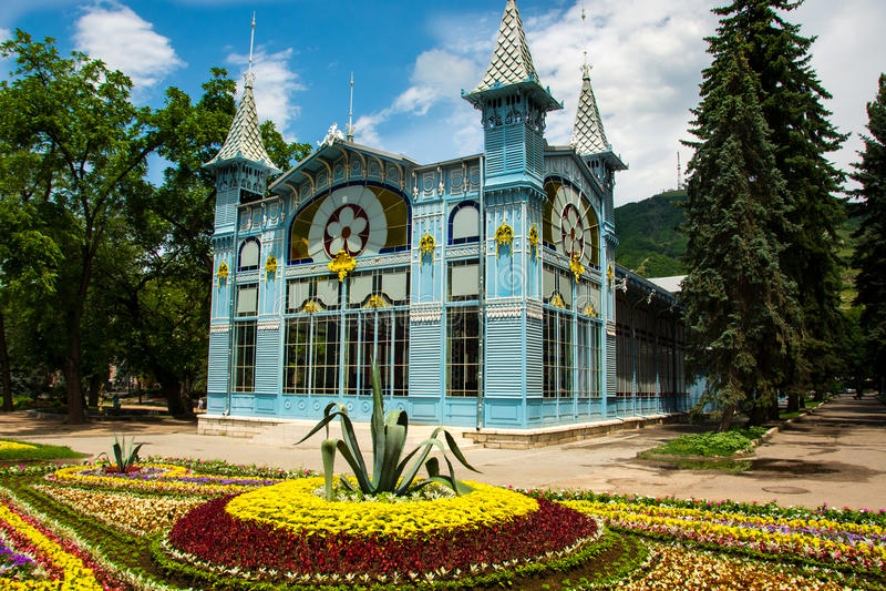 Miasto Pyatigorsk Północny Kaukaz zdjęcie stock