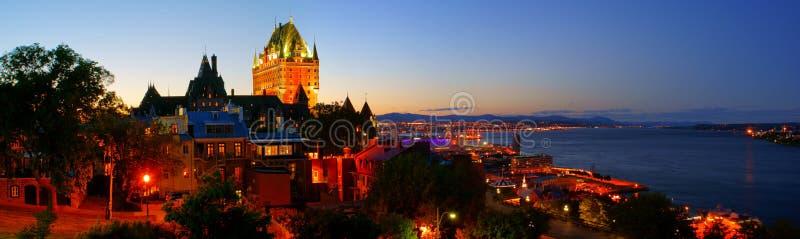 miasto Quebec zdjęcia stock