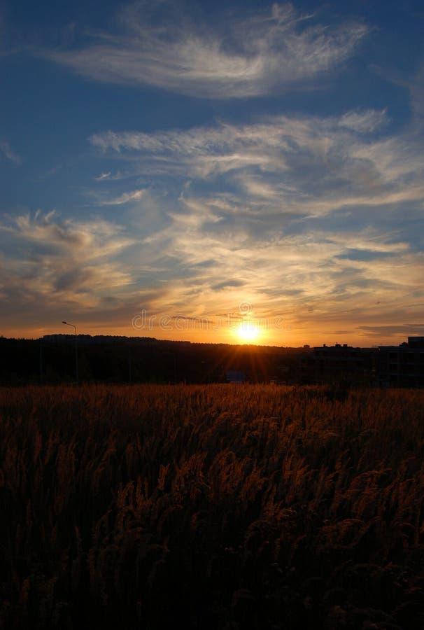 miasto słońca obrazy stock