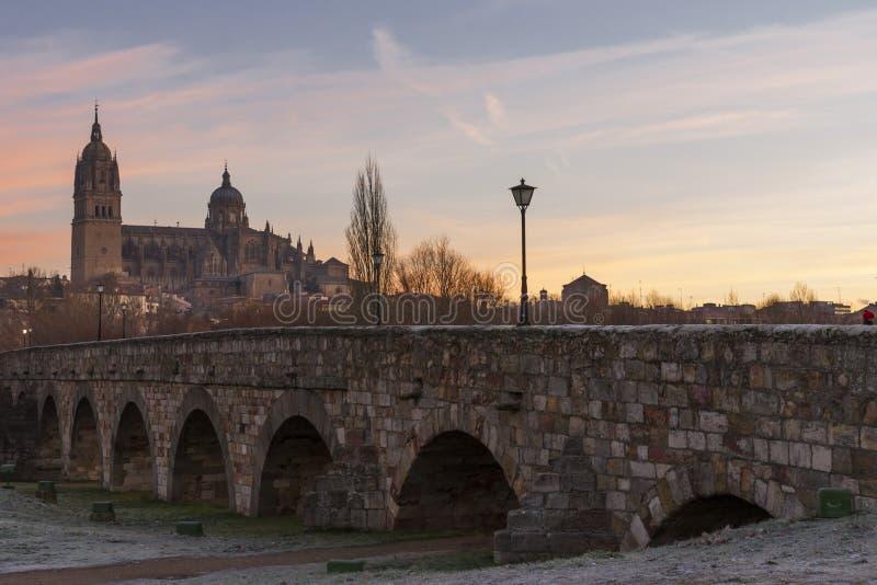 Miasto Salamanca, Hiszpania fotografia royalty free