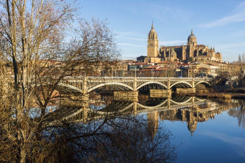 Miasto Salamanca, Hiszpania obraz stock