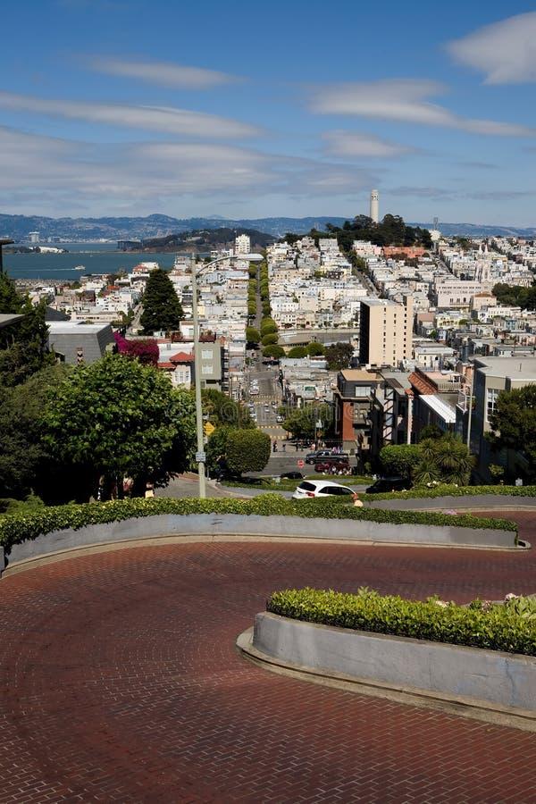 miasto San Francisco obraz royalty free