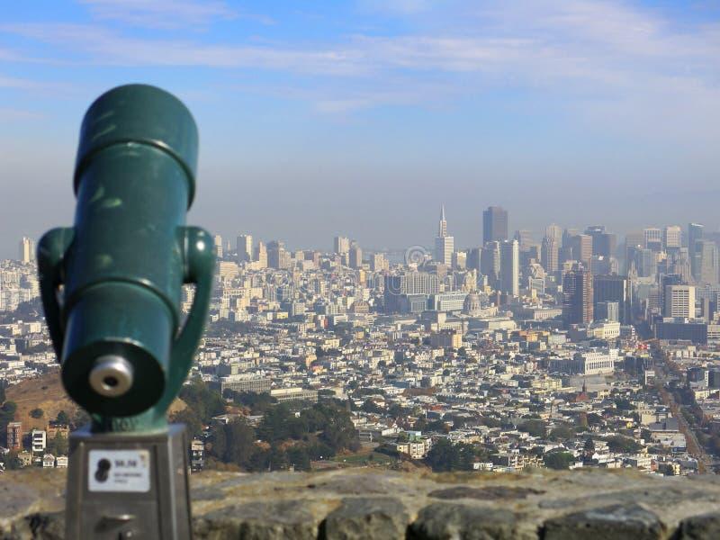 Miasto San Fransisco obraz royalty free