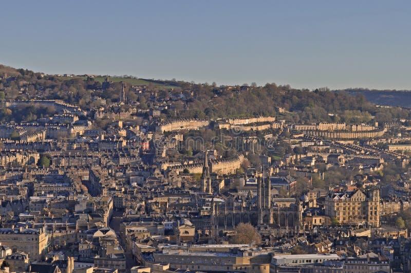 Miasto skąpanie od Alexandra parka na górze Beechen falezy obraz royalty free