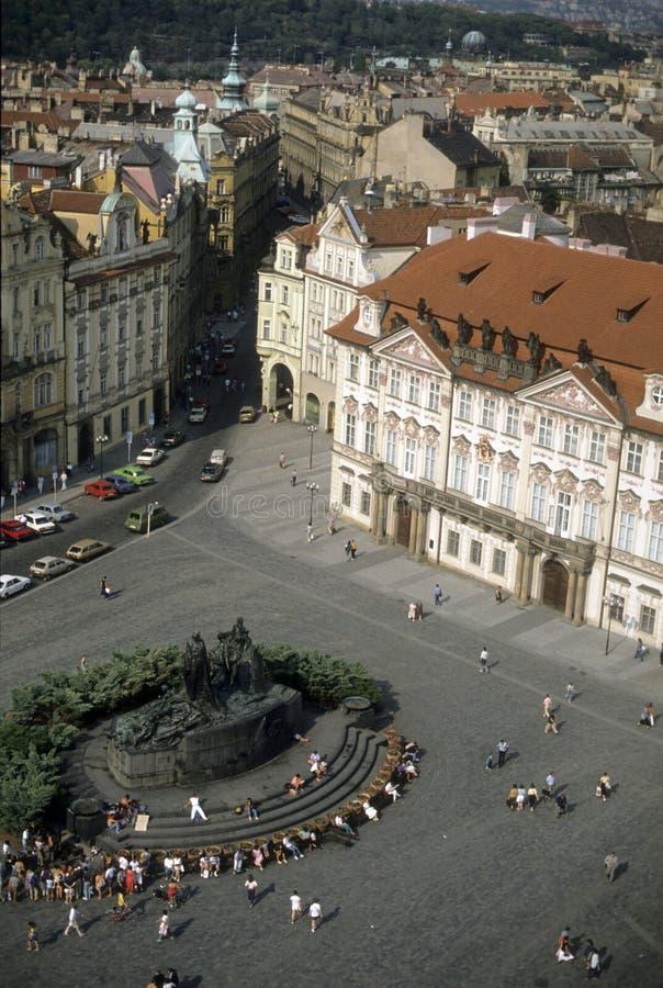 miasto stara square zdjęcia stock