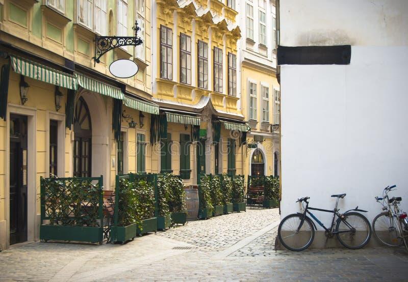 miasto stary uliczny Vienna zdjęcia stock