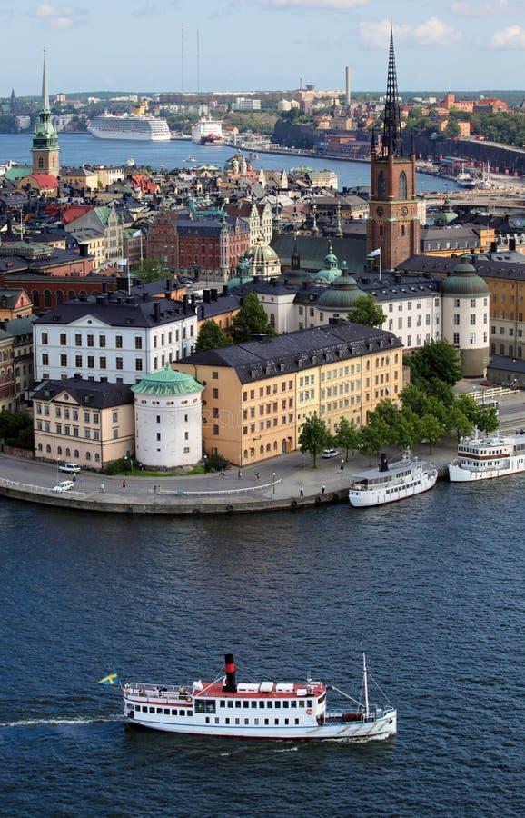 miasto Stockholm obraz stock