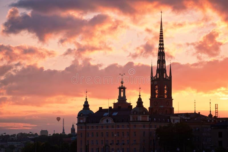 miasto Stockholm zdjęcia stock