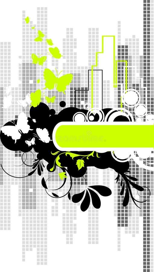 miasto tła abstrakcyjne royalty ilustracja