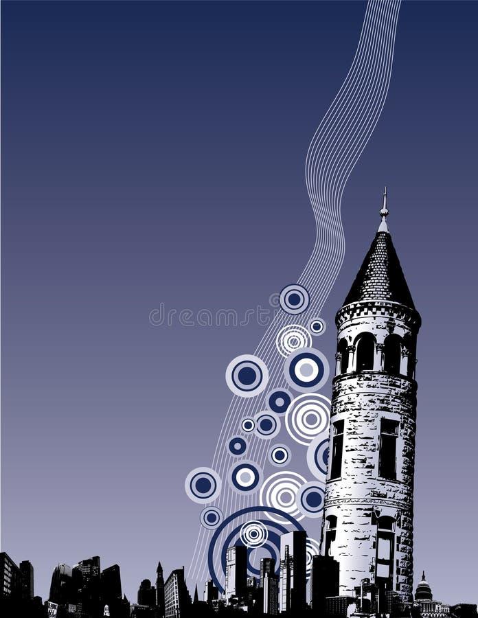 miasto tła crunch ilustracja wektor