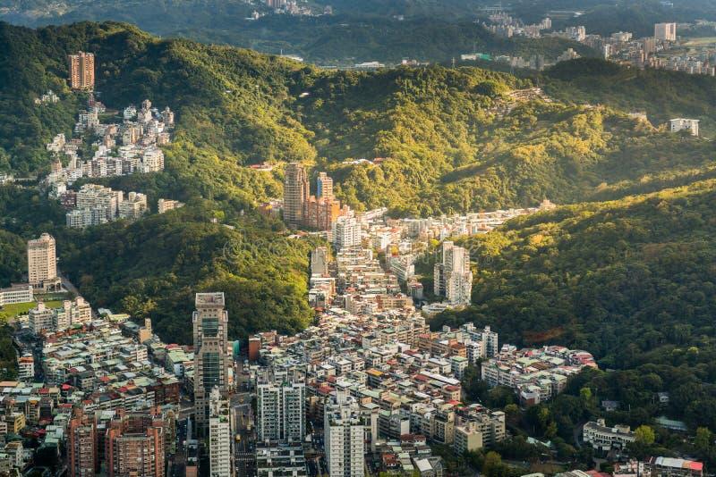 Miasto Tajwan obrazy royalty free
