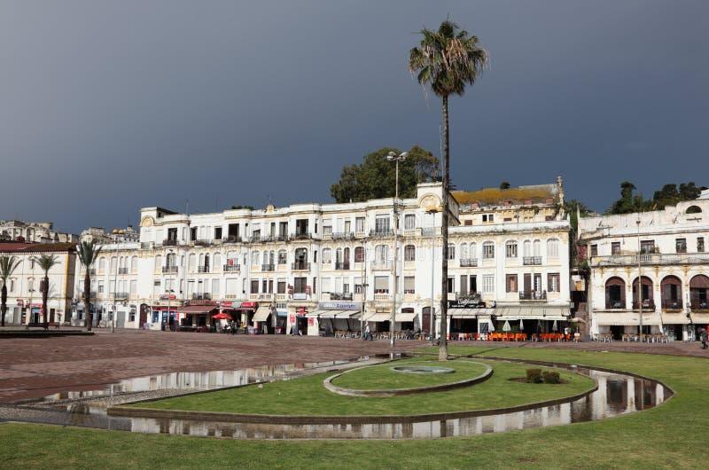 Miasto Tangier, Maroko fotografia stock