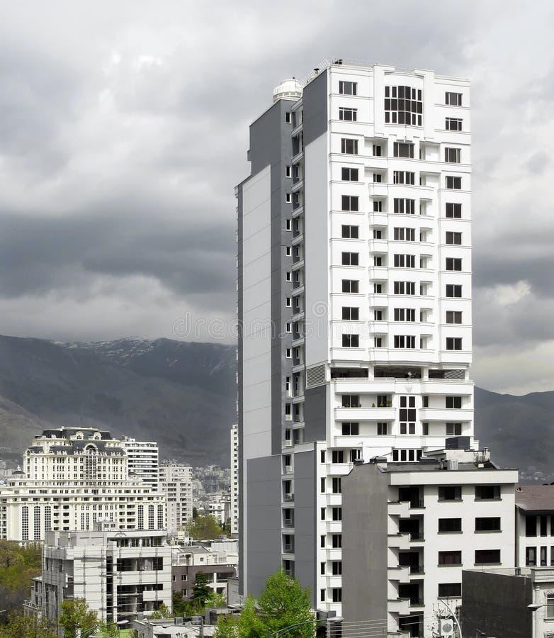 miasto Tehran fotografia stock