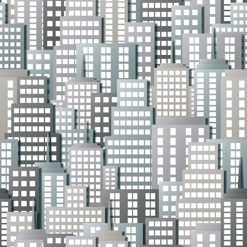Miasto tekstura ilustracji
