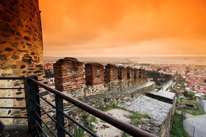 miasto Thessaloniki zdjęcie royalty free