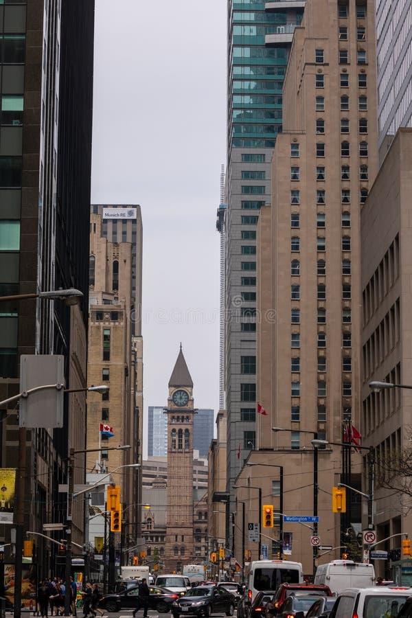 Miasto Toronto w Kanada obrazy royalty free