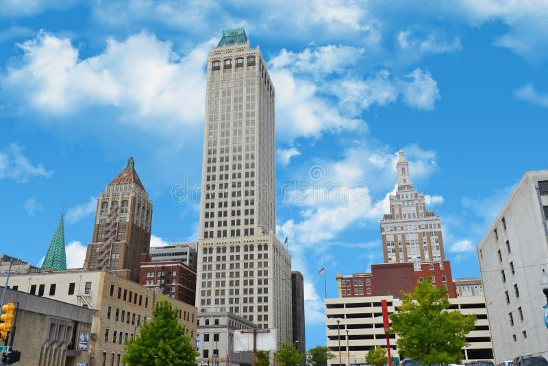 Miasto Tulsa zdjęcie royalty free