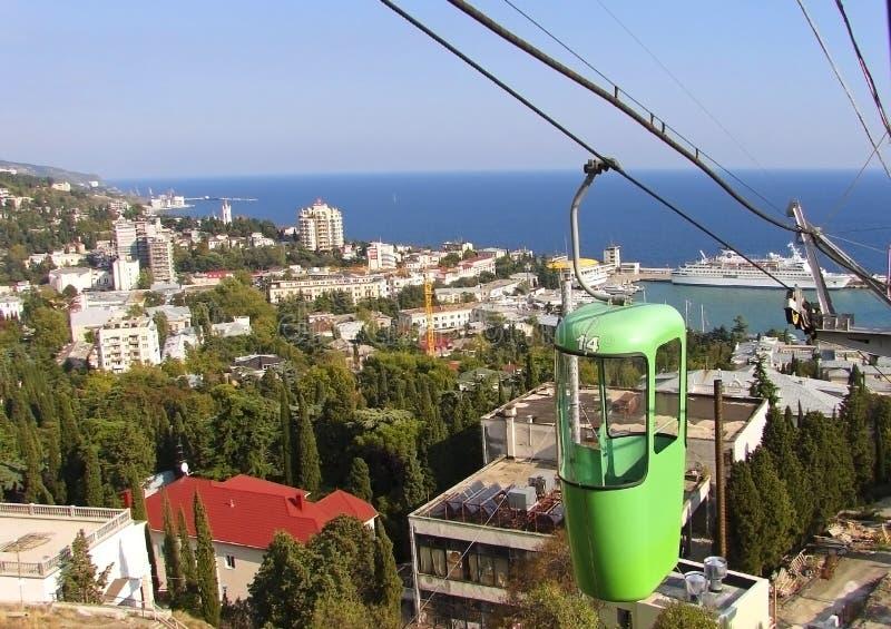 miasto Ukraine Yalta obrazy royalty free