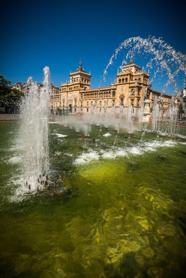 Miasto Valladolid obrazy stock