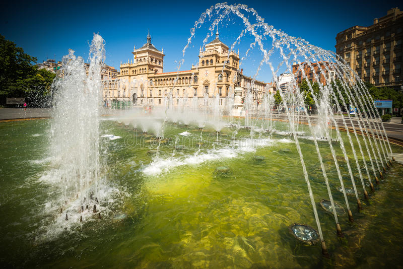 Miasto Valladolid obraz stock