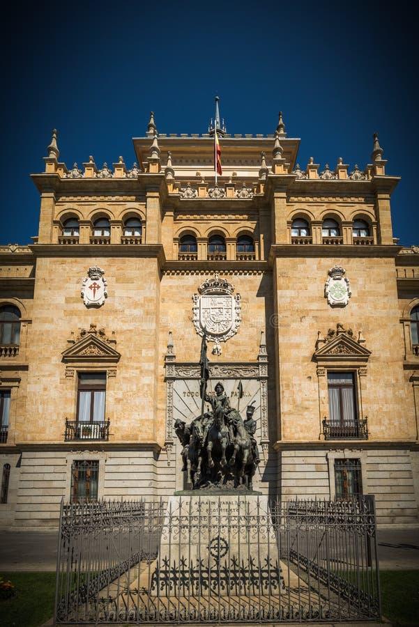 Miasto Valladolid fotografia stock