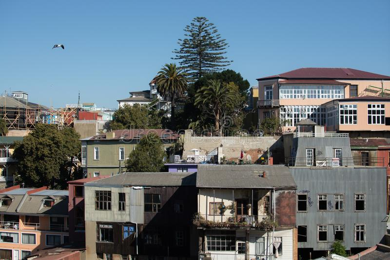 miasto Valparaiso zdjęcia stock