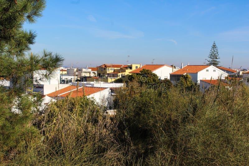 Miasto Vila Real De Santo Antonio, Algavare region, Portugalia zdjęcie royalty free