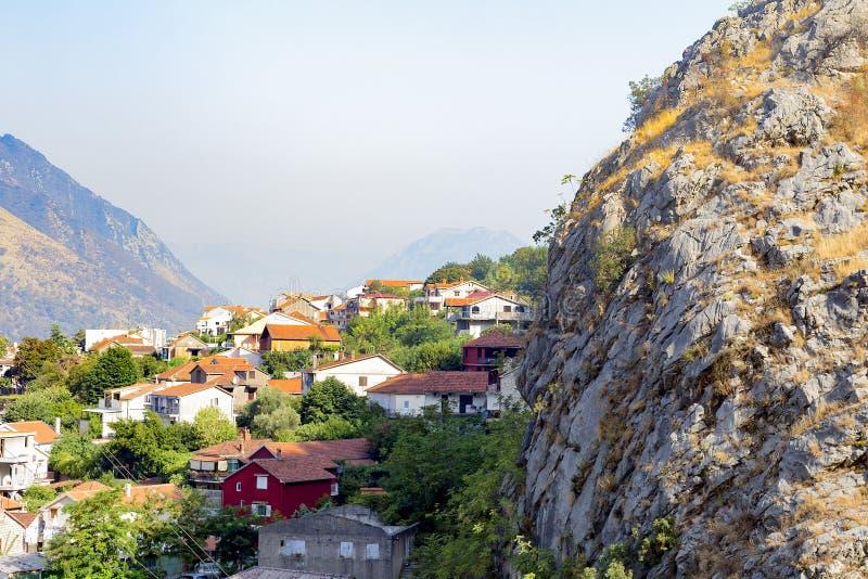 Miasto w górach obraz royalty free