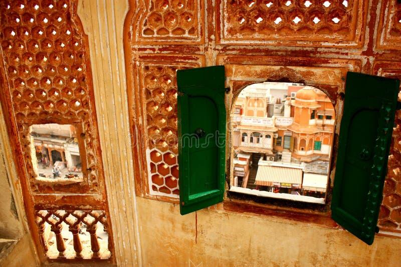 Miasto w India fotografia royalty free
